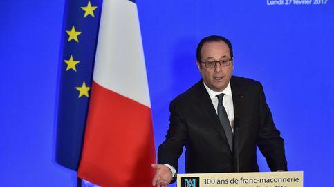 Un disparo accidental de un policía durante un acto de Hollande hiere a dos personas