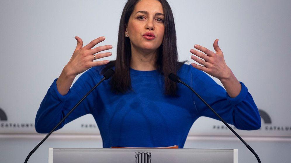 Foto: La líder de Cs en Cataluña, Inés Arrimadas. (EFE)