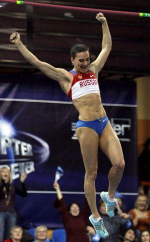 """La atleta Yelena Isinbayeva, Premio Príncipe de Asturias """"por su espíritu de superación encomiable"""""""