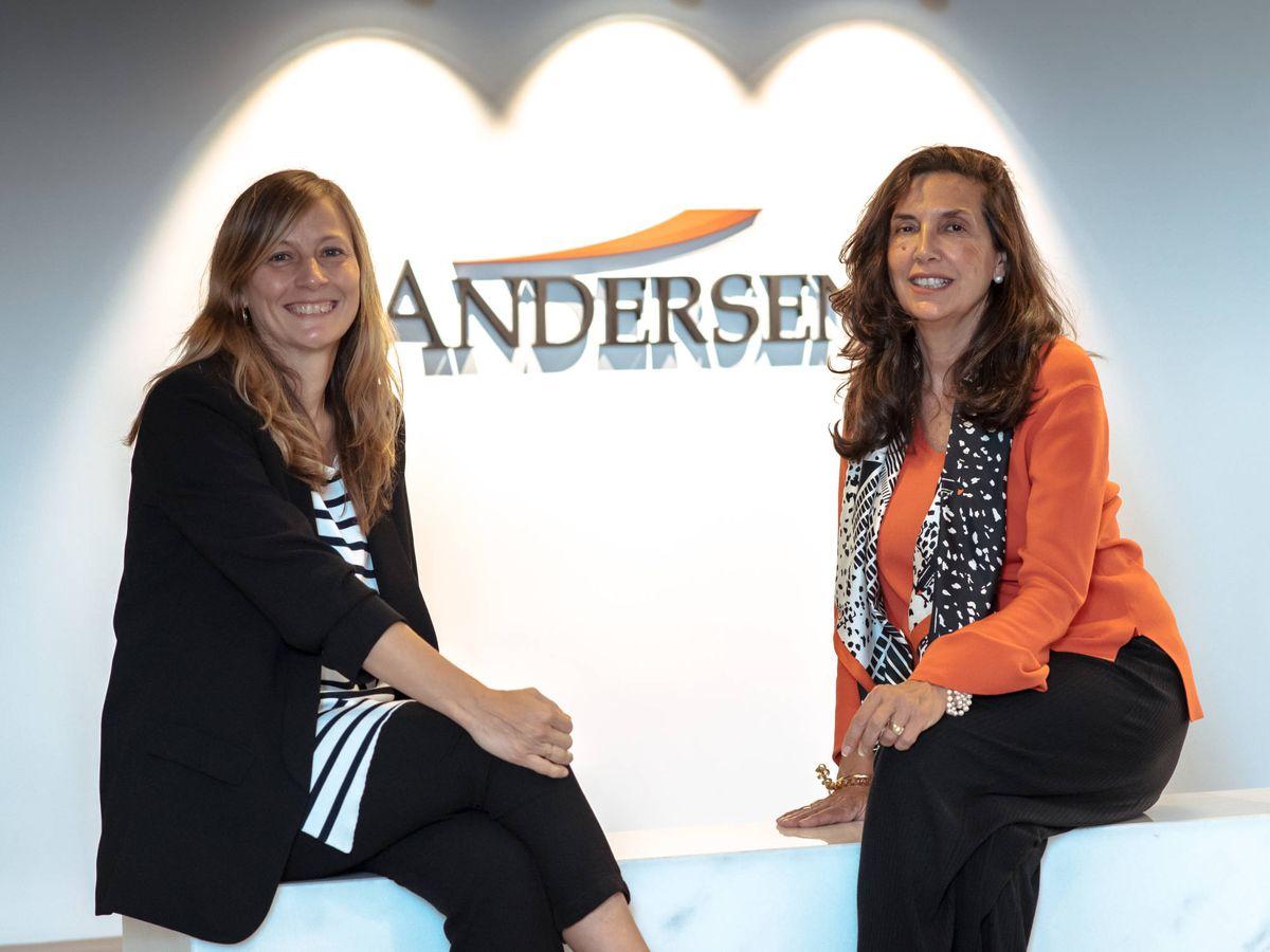 Foto: Nerea Sanjuán, directora de PI del área de Cultura, Deporte y Entretenimiento, y Patricia Motilla, socia responsable del departamento. (Cedida)