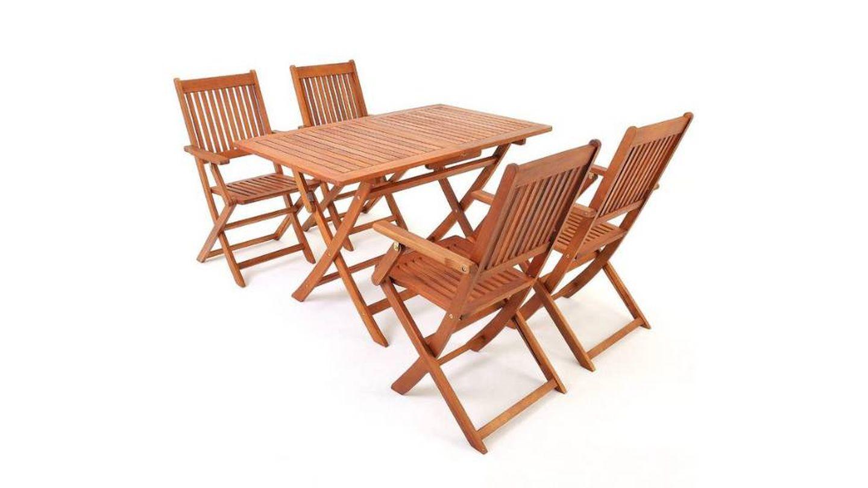 Mesa para jardín Deuba