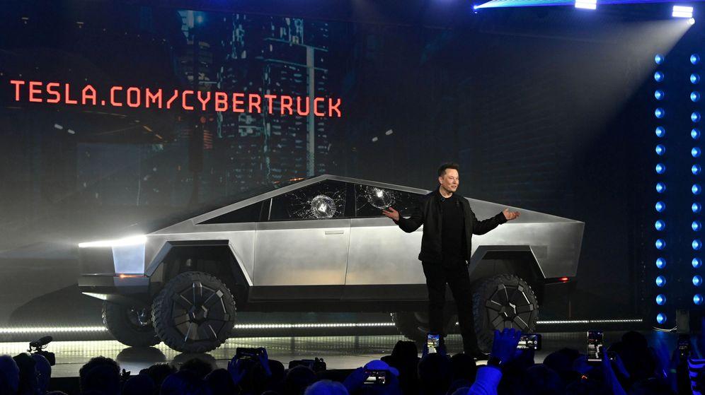 Foto: Elon Musk, en la presentación del Cybertruck de Tesla. (Reuters)