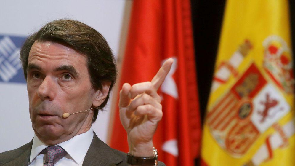 Foto: José María Aznar. (EFE)