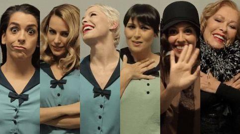 Edurne, Rosa, Soraya, Ruth, Massiel y Mirela las chicas del cable de Eurovisión