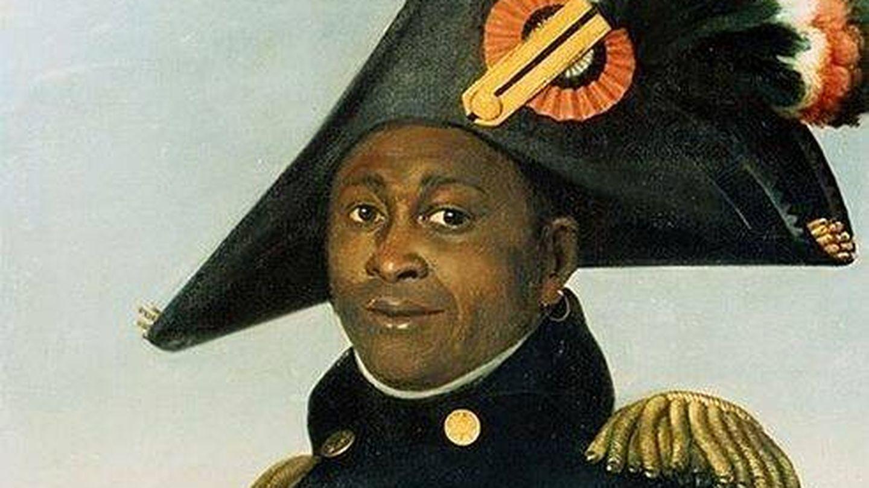 Retrato de Toussaint Louverture pintado por Alexandre-François-Louis, conde de Girardin, 1804-1805.