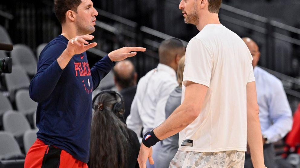 Nikola Mirotic, como loco con la llegada de su amigo Pau Gasol a los Milwaukee Bucks
