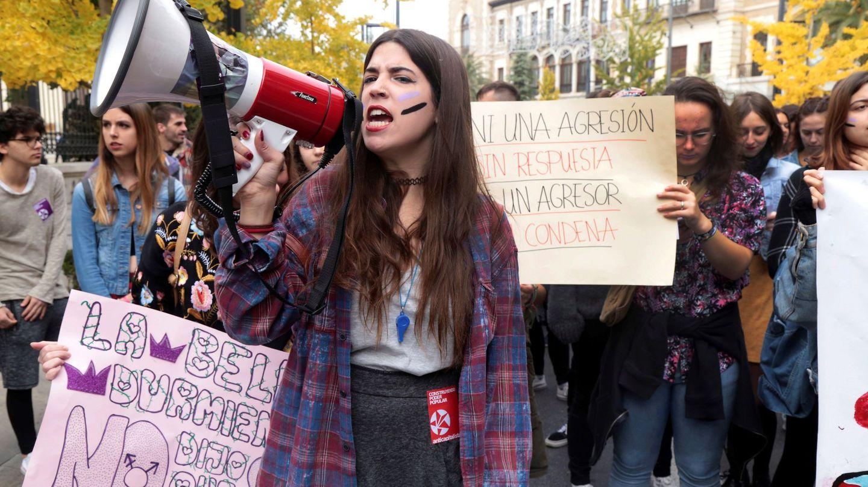 Manifestación del Día Internacional contra la Violencia de Género, el pasado mes de noviembre. (EFE)