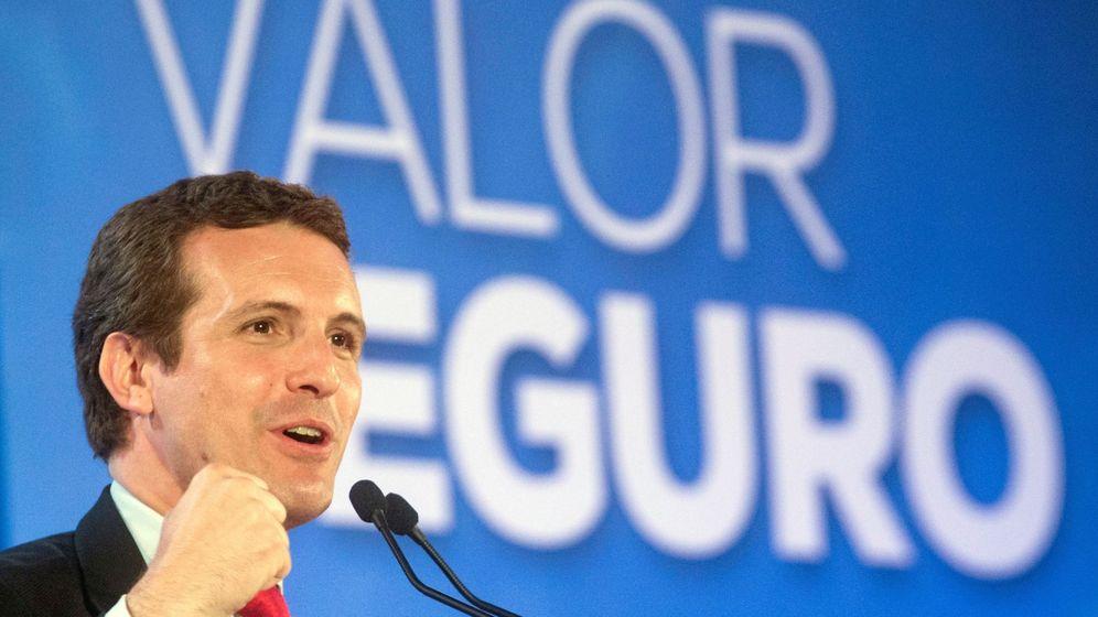 Foto: El candidato del PP a la Moncloa, Pablo Casado. (EFE)
