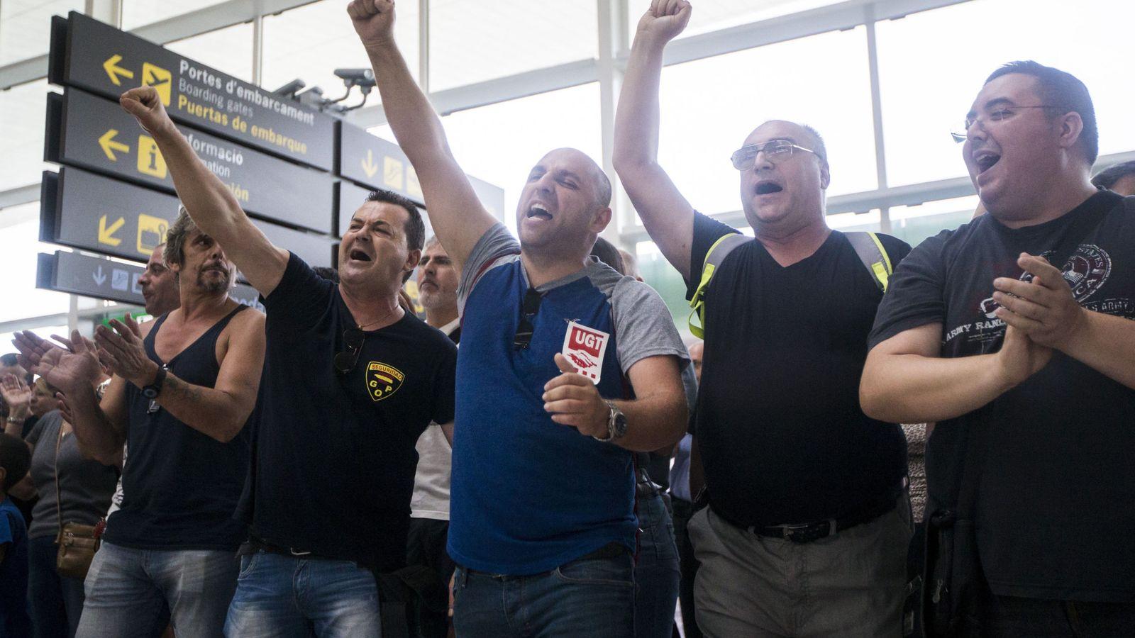 Foto: Los vigilantes podrían suspender los paros previstos para el 8 de septiembre. (EFE)