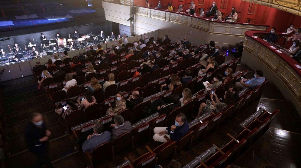 Foto: El Teatro Real reabre sus puertas con 'La Traviata'. (EFE)