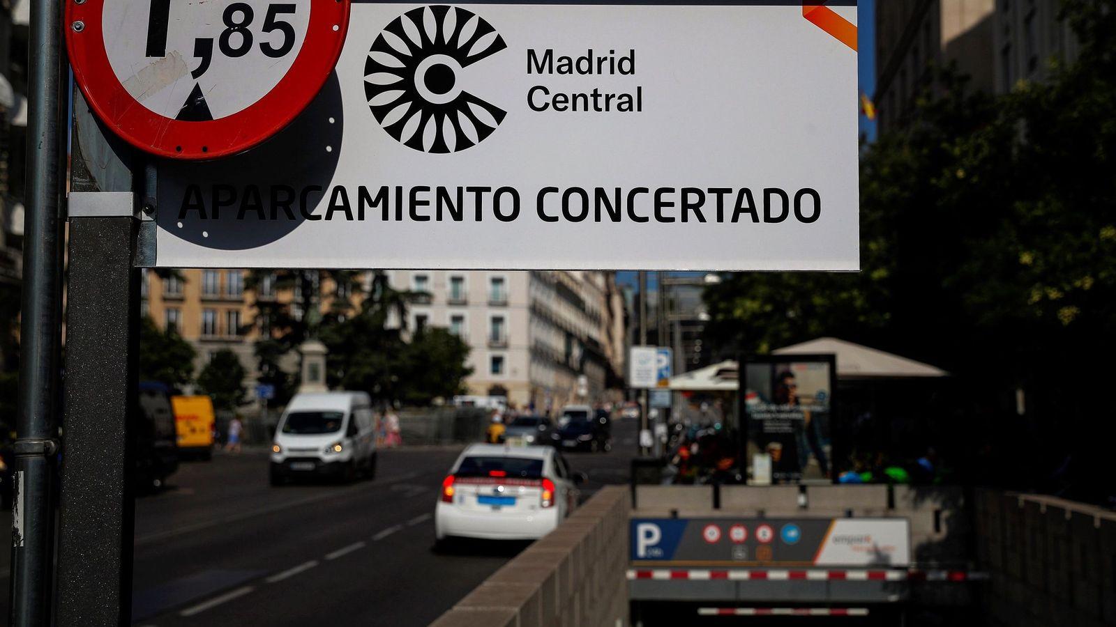 Foto: Zona de Madrid CentrAL. (EFE)
