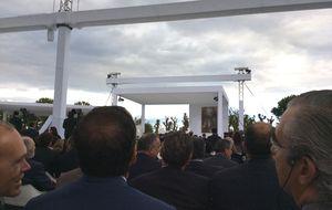 Multitudinario funeral de Botín que reunió al poder patrio en Boadilla