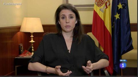 El mensaje 'oculto' (atentos en Zarzuela) en la última aparición de Irene Montero