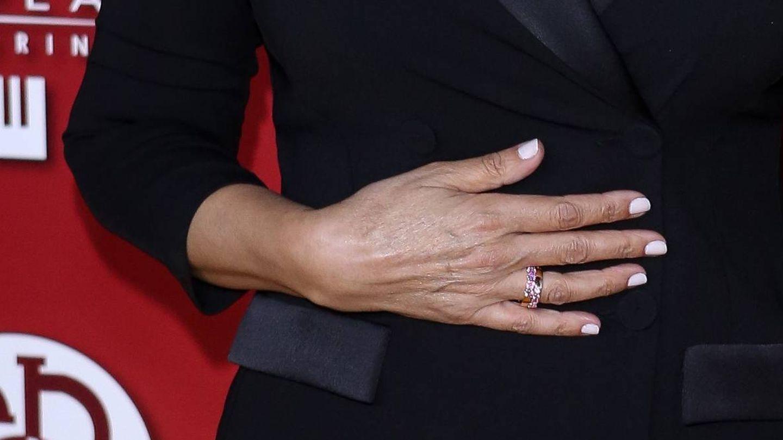 Mano derecha de Mariló Montero. (Getty)