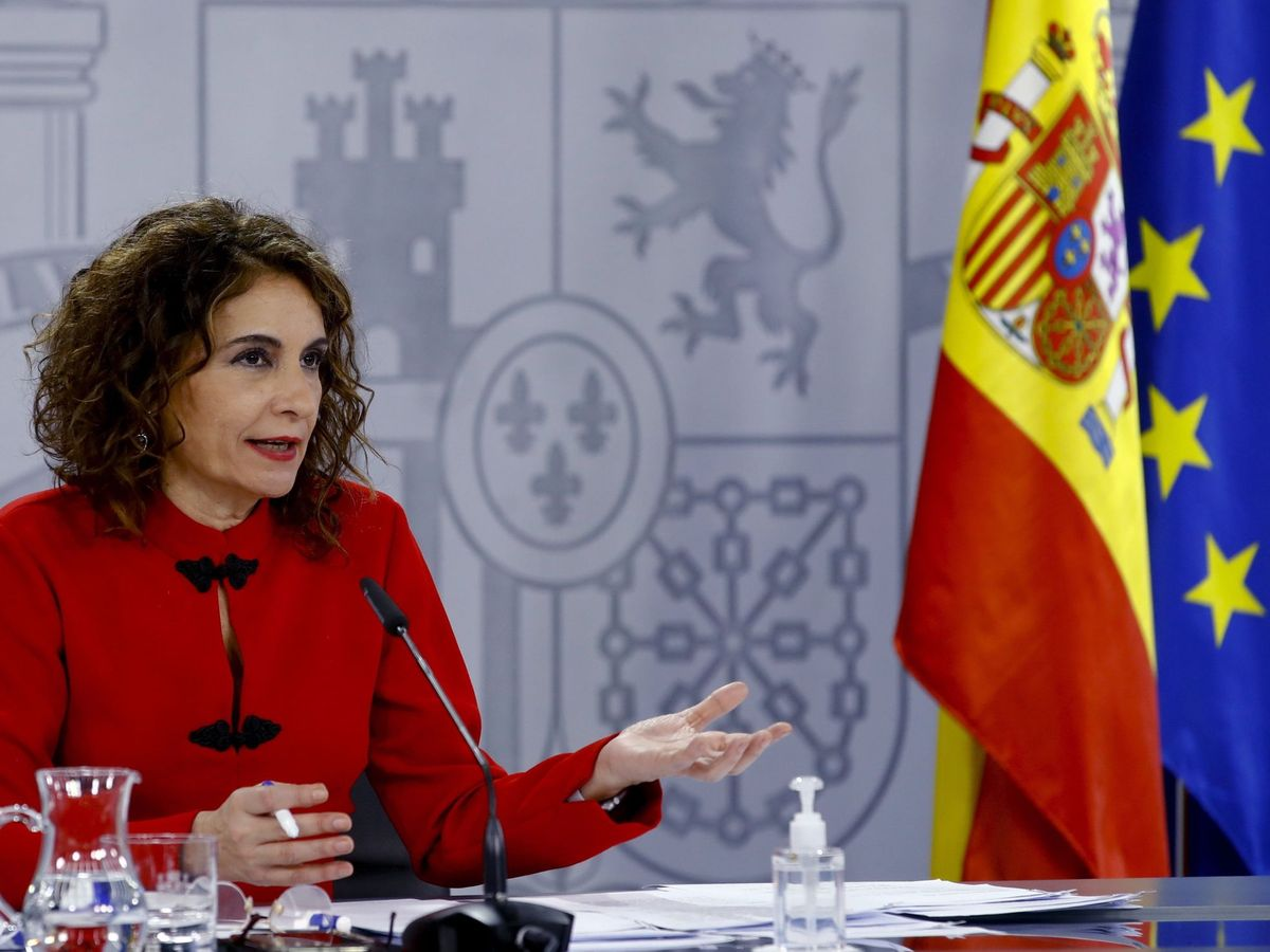 Foto: La ministra de Hacienda y portavoz del Gobierno, María Jesús Montero. (EFE)