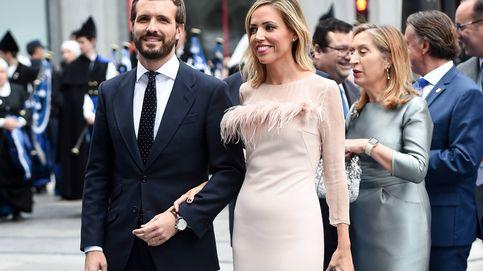 Plumas, terciopelo, pedrería... Las mejor y peor vestidas de los Princesa de Asturias