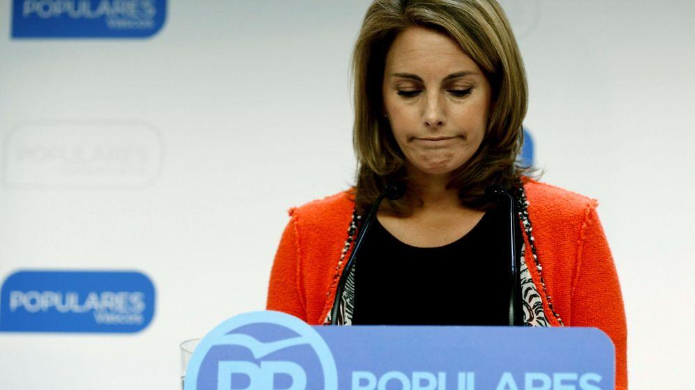Foto: La expresidenta del PP del País Vasco Arantza Quiroga. (EFE)