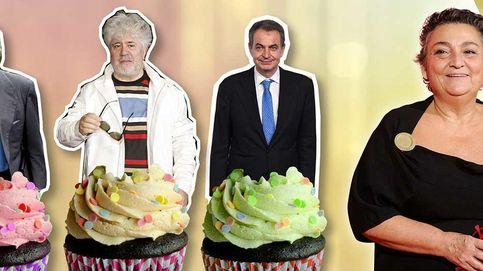 Almodóvar, Zapatero y González, juntos en el cumpleaños de Elena