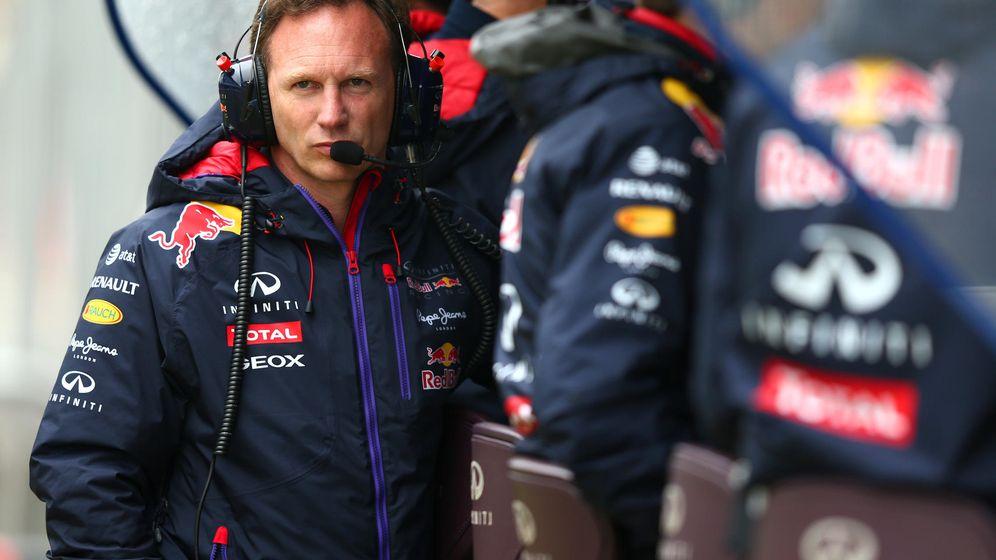 Foto: Christian Horner, jefe de equipo de Red Bull.