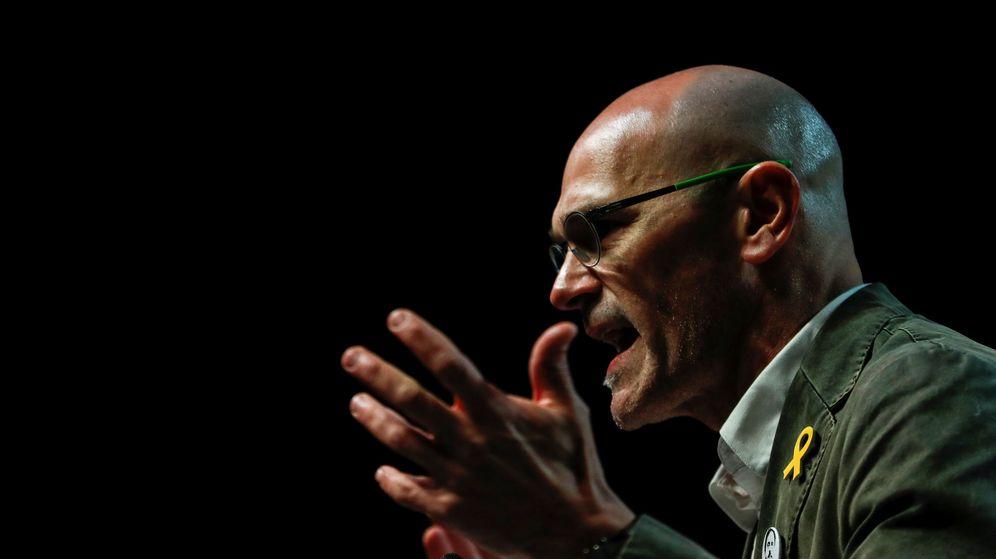 Foto: Raül Romeva durante la campaña de las elecciones catalanas. (Reuters)