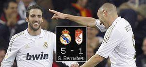 Foto: El Real Madrid golea al Granada con la ley del mínimo esfuerzo, pero Ronaldo no lo celebra