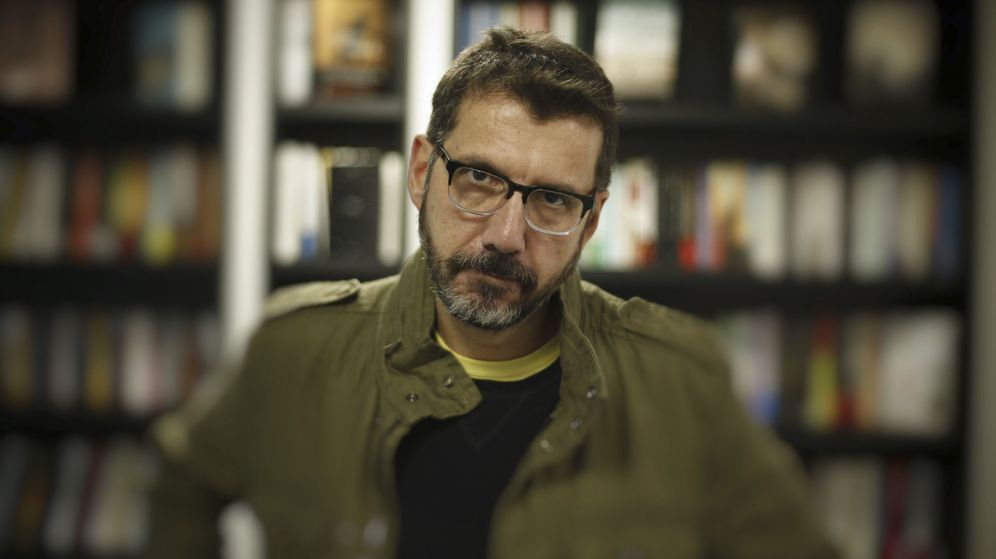 Foto: Alberto Fuguet, en Madrid. (Foto: EFE/Paco Campos)