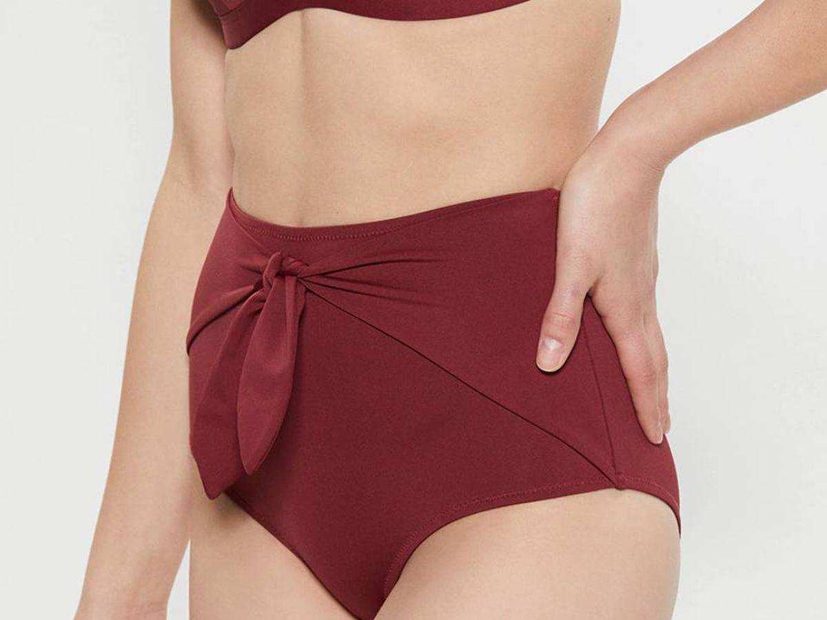 Foto: Uno de los bikinis de Sfera que más estiliza la figura. (Cortesía)