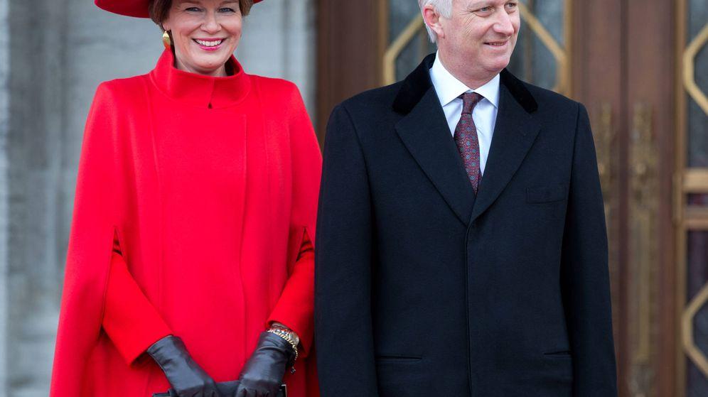 Foto: Los reyes Felipe y Matilde de Bélgica en Canadá. (Gtres)