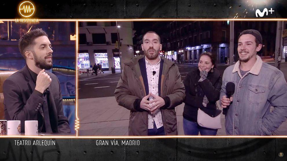El experimento fallido de 'La resistencia' en plena Gran Vía de Madrid