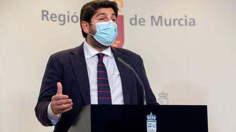 El PP aborta la moción de censura en Murcia con tres diputados de Cs