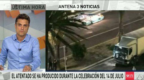 Telecinco dedicó 18 minutos al atentado de Niza frente a los 136 de Antena 3