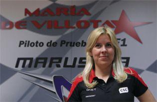 Foto: El informe médico confirma que María de Villota ha perdido el ojo derecho