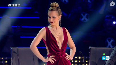 El escote de infarto de Edurne en 'Got Talent' en 13 fotogramas