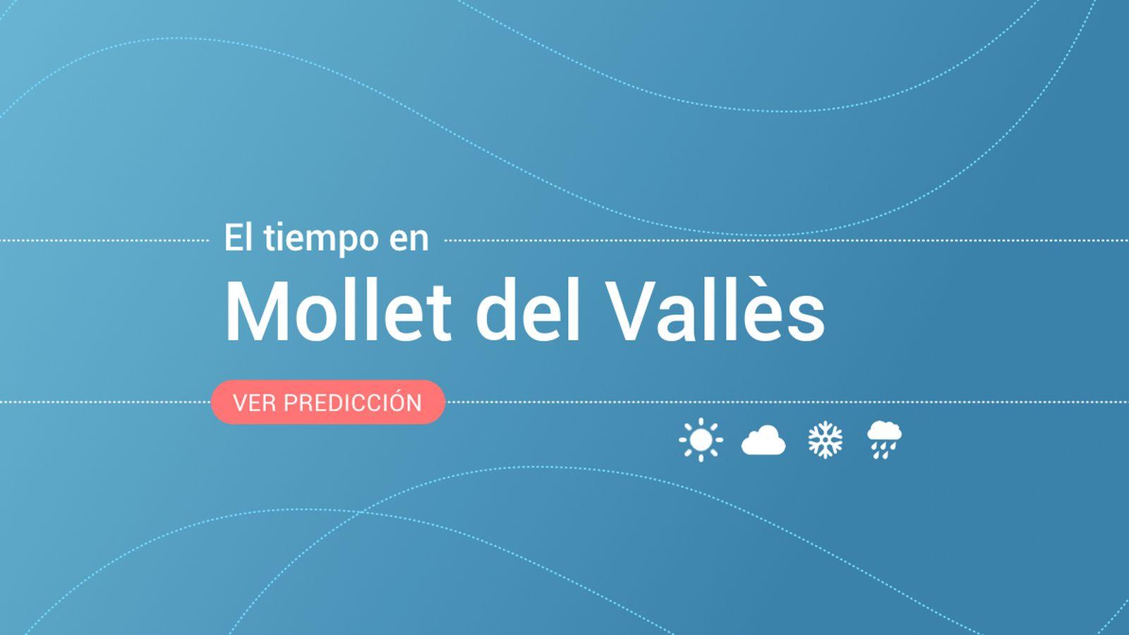 Foto: El tiempo en Mollet del Vallès. (EC)