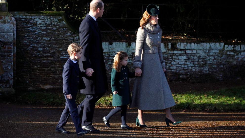 Guillermo y Kate siguen ganando puntos: en la iglesia con la reina y una foto definitiva