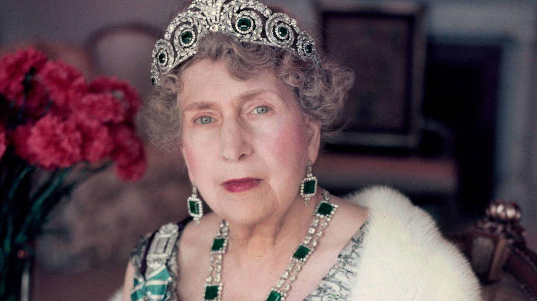 La reina Victoria Eugenia. (Getty)