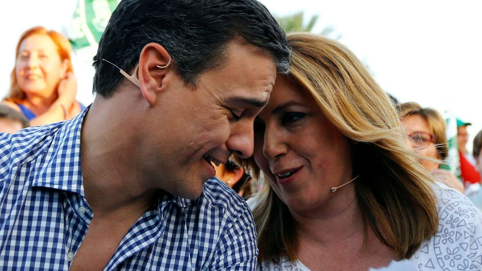 Susana Díaz se piensa si liderar la batalla contra Pedro Sánchez
