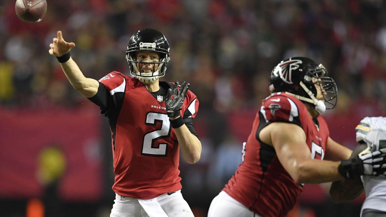 Matt Ryan, 'quarterback' de los Falcons (Reuters)