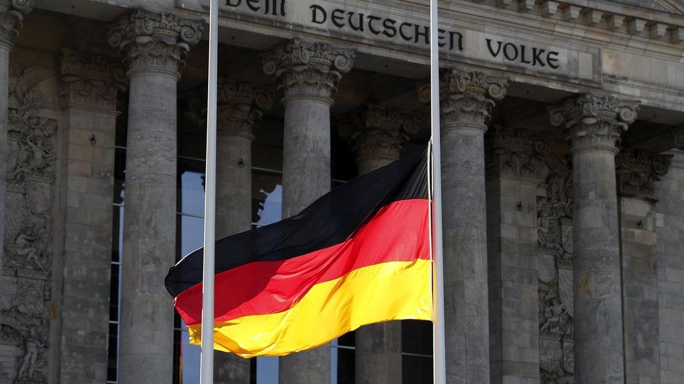 Foto: Bandera de Alemania (Reuters)