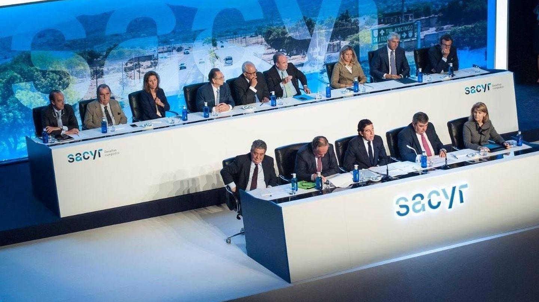 Junta general de accionistas de Sacyr 2019. (EP)