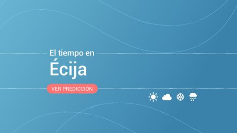 El tiempo en Écija: previsión meteorológica de hoy, jueves 14 de noviembre
