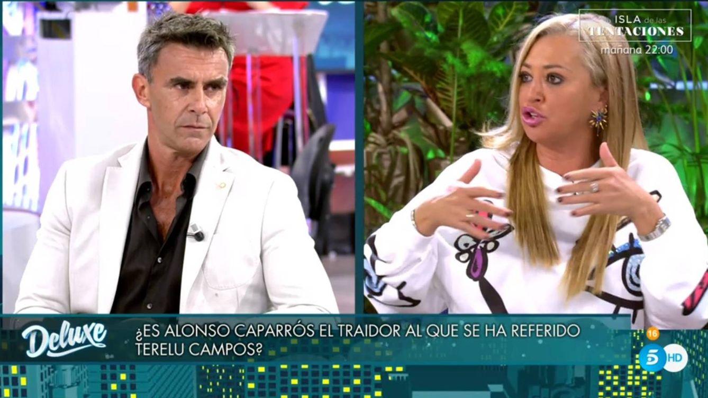 'Sábado Deluxe': Alonso Caparros se rebela contra la puñalada de las Campos y Belén Esteban