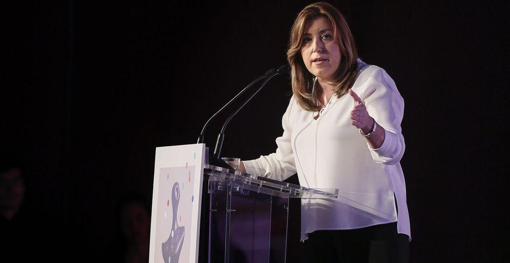 Foto: Susana Díaz, el pasado 6 de marzo, en un acto de entrega de premios del Gobierno andaluz. (EFE)