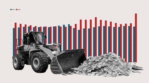 El gasto público sostiene la mitad del PIB