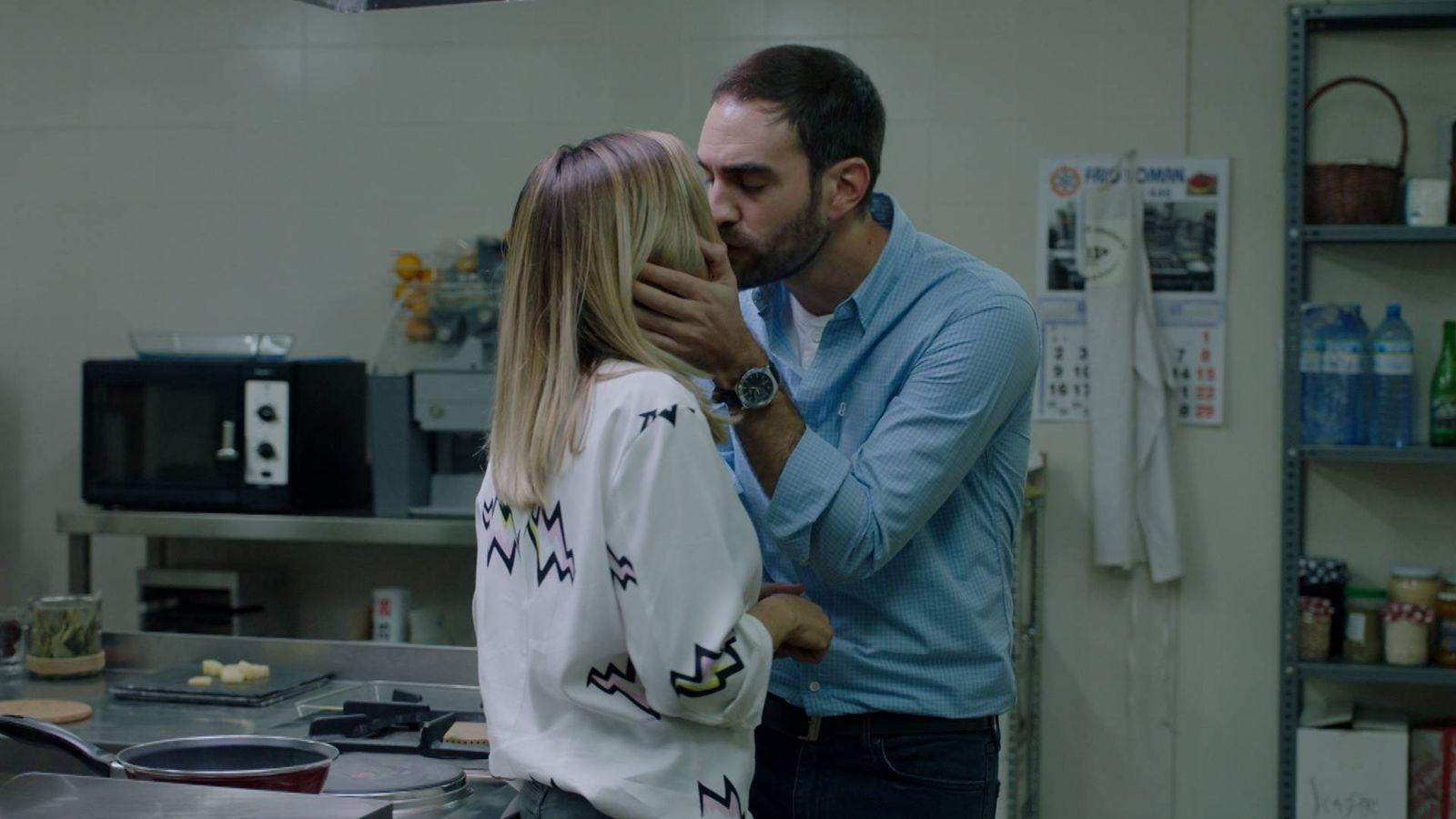 Foto: María e Iñaki en 'Allí Abajo'.