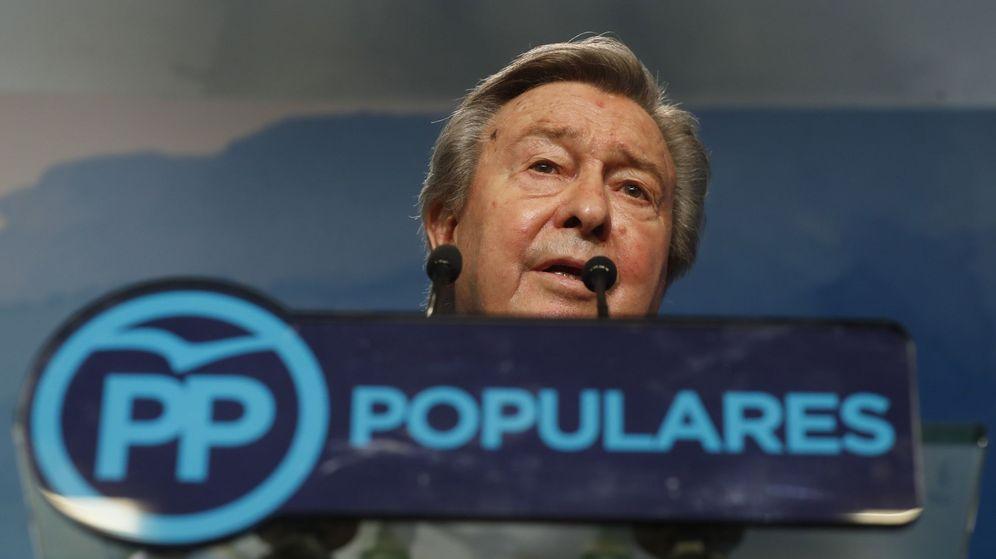 Foto: El presidente del Comité Organizador del XIX Congreso del PP, Luis de Grandes. (EFE)