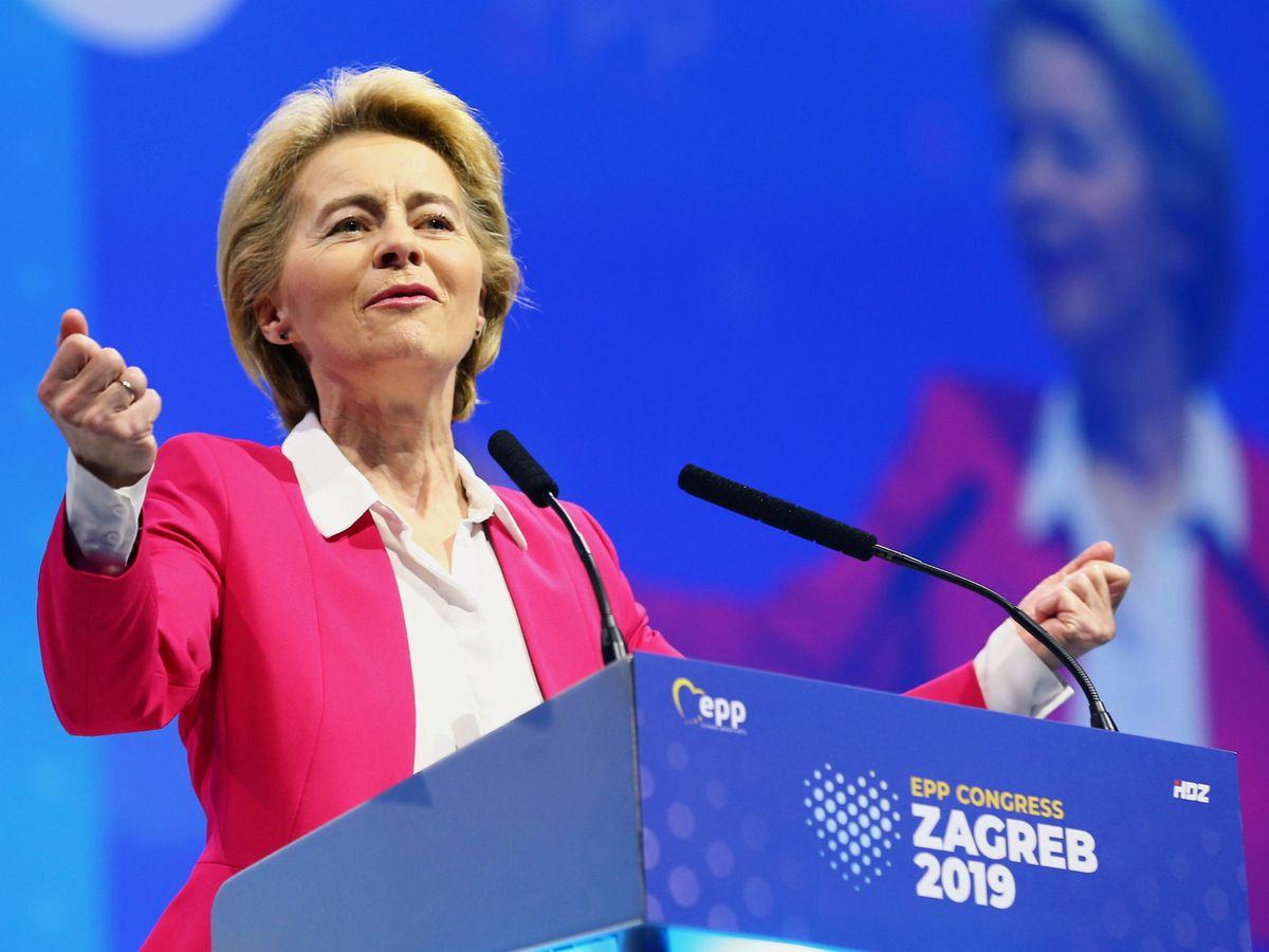 Foto: La presidenta electa de la Comisión Europea Úrsula von der Leyen. (Reuters)