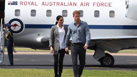 Entramos en el polémico jet privado de Meghan y Harry: lujo y tecnología punta