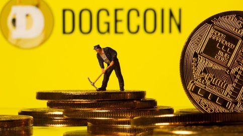 El dogecoin se dispara un 33% tras ser incluido en la plataforma de Coinbase