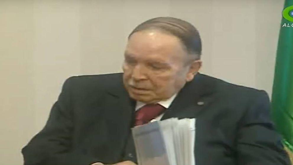 El presidente Bouteflika reaparece sin habla en la televisión de Argelia